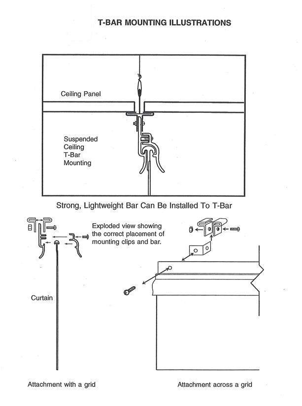 Clean Room Curtain Amp Strip Door Accessories T Bar