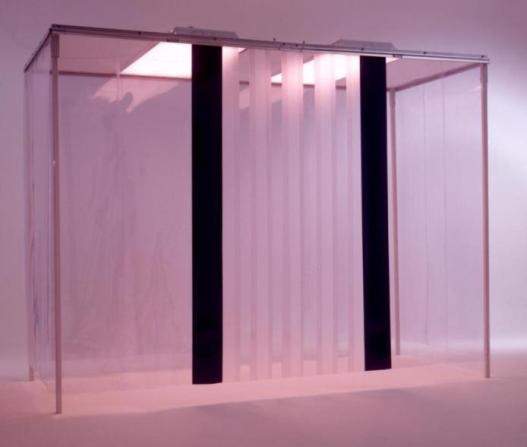 Clean Room Curtains & Plastic Strip Doors   Clear .040 mil   NCI